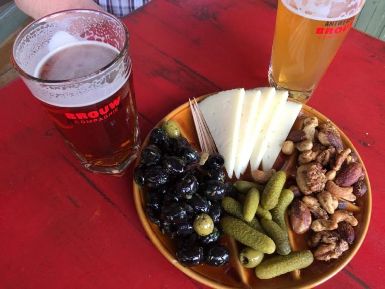 Belgian cheese and beer